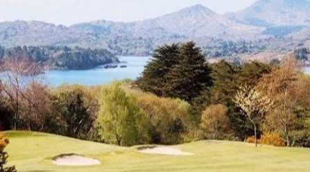 A view of green #2 at Glengarriff Golf Club