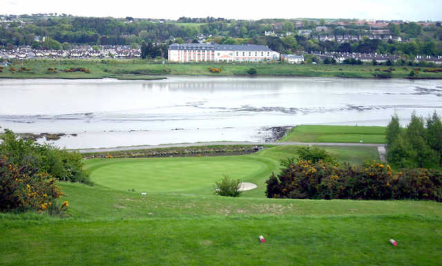 A view of the 4th hole at Mahon Golf Club