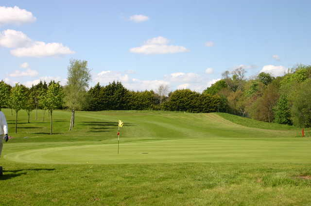 A view of green #14 at Mahon Golf Club