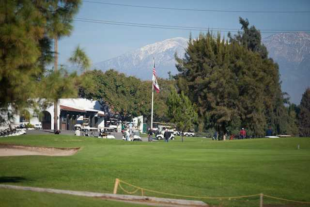 A view of the clubhouse at El Prado Golf Courses