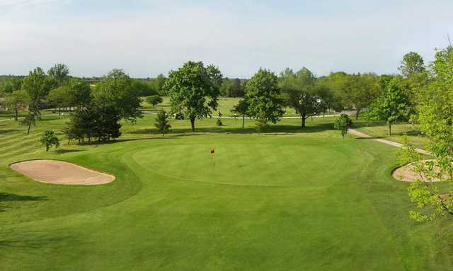 A view of hole #9 at Willodell Golf Club of Niagara
