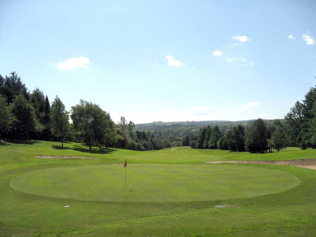 A view of the 5th hole at Ballybofey and Stranorlar Golf Club