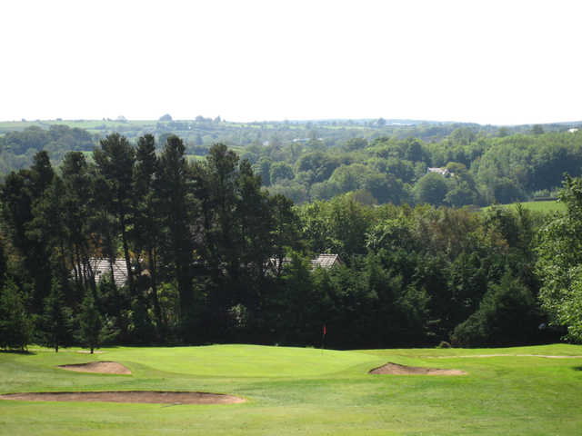 A view green #3 at Ballybofey and Stranorlar Golf Club