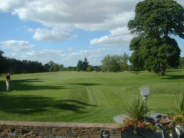 A view from tee #1 at Deerpark Course from Carlow Golf Club