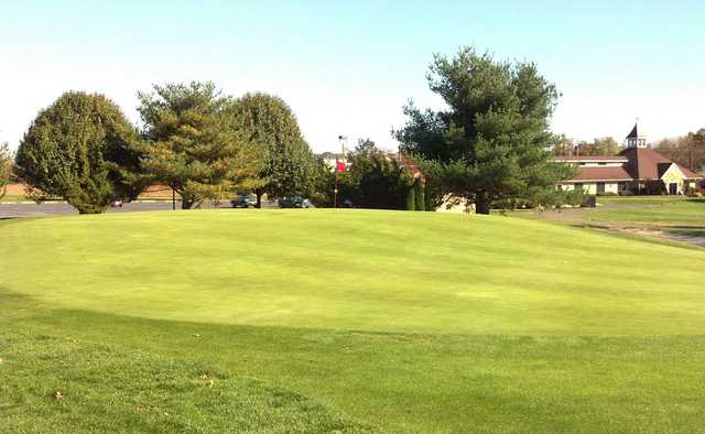 A view of a green at Cream Ridge Golf Club