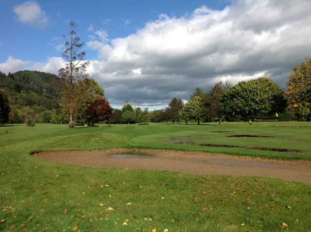 A view from Betws-y-Coed Golf Club.