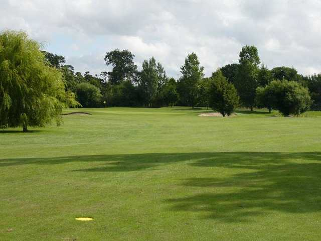 A view of fairway at Rhuddlan Golf Club