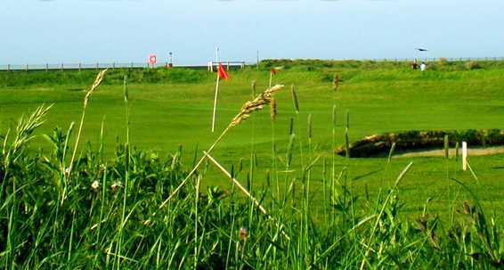 A view of green at Rhyl Golf Club
