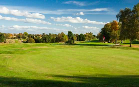 A view of green at Wrexham Golf Club