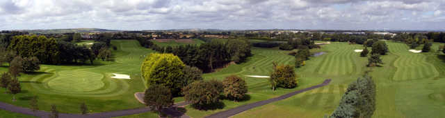 A view of the 8th green at Balbriggan Golf Club