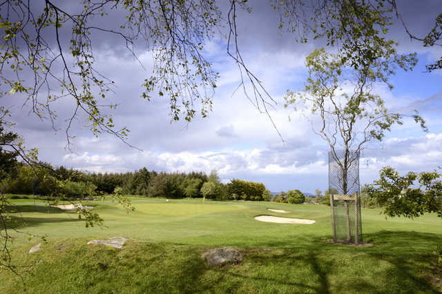 A view of hole #7 at Carrickmines Golf Club