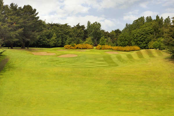 A view of the 10th green at Castle Golf Club