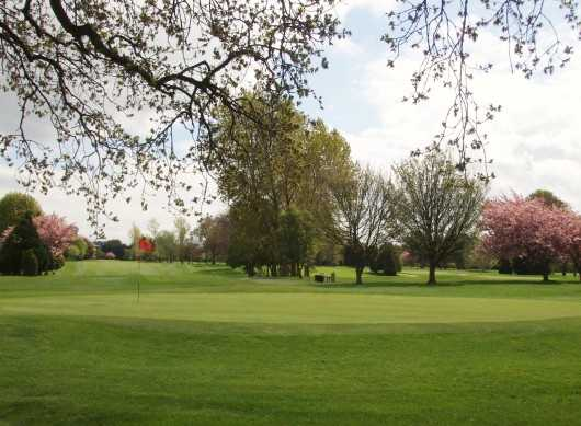 A spring view of green at Clontarf Golf Club