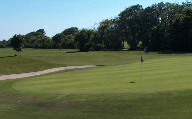 A view of hole #6 at Blue Course from Donabate Golf Club