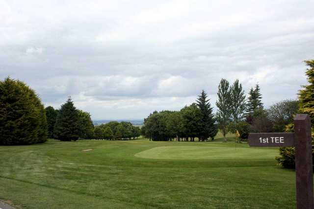 A view from tee #1 at Dublin City Golf Club