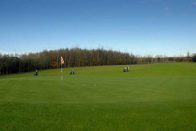 A view of the 17th green at Elmgreen Golf Club