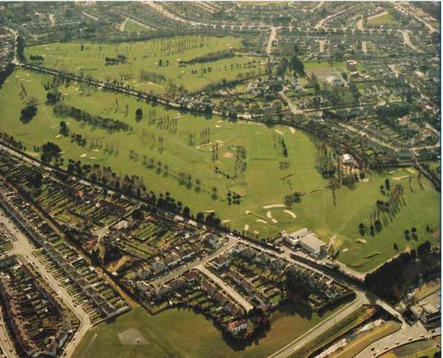 Aerial view of Milltown Golf Club