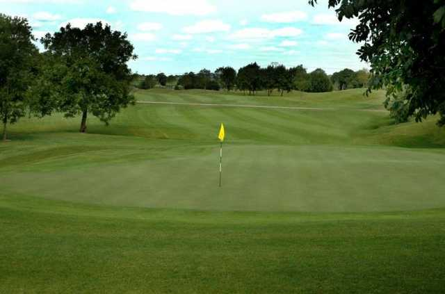A view of green #1 at Roganstown Golf & Country Club