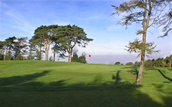 A view of the 4th green at Slade Valley Golf Club