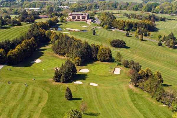 Aerial view from Stackstown Golf Club