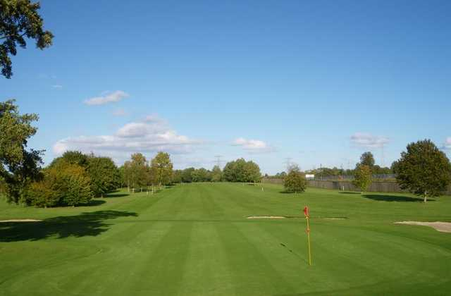 A view of the 7th green at Celbridge Elm Hall Golf Club