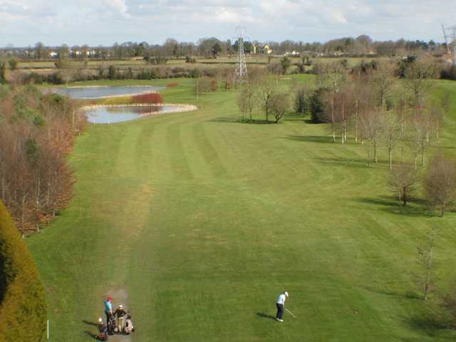 A view of the 3rd fairway at Celbridge Elm Hall Golf Club