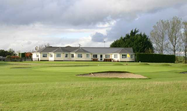 A view of the clubhouse at Cill Dara Golf Club