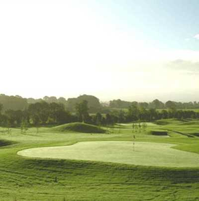 A view of the 17th green at Dunmurry Springs Golf Club