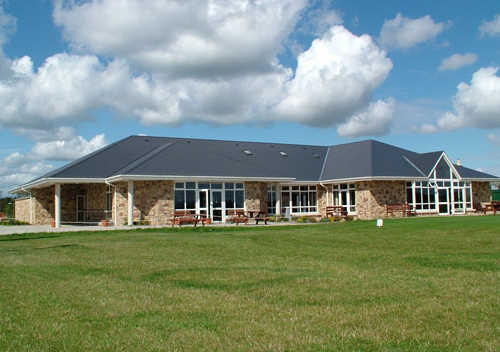 A view of the clubhouse at Millicent Golf and Country Club