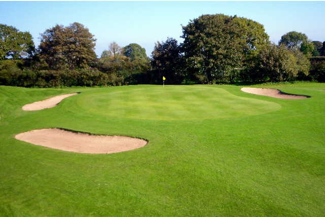 A view of the 5th green at Pennant Park Golf Club