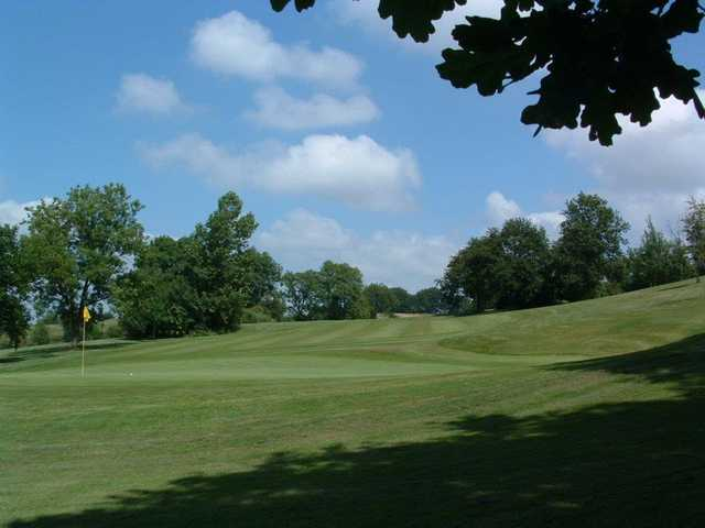 A view of the 9th hole at Woodlake Park Golf and Country Club