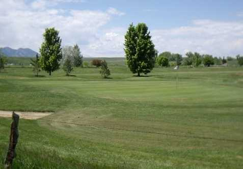 A view of a green at Stoney Creek Golf Course