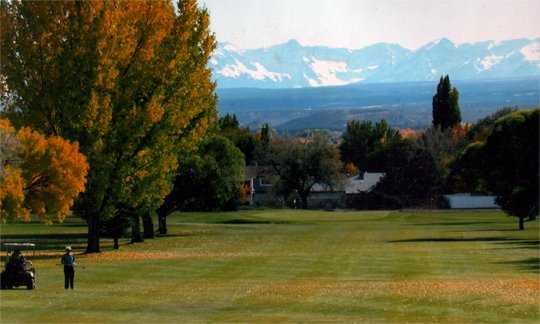 A fall view from Black Canyon Golf Club