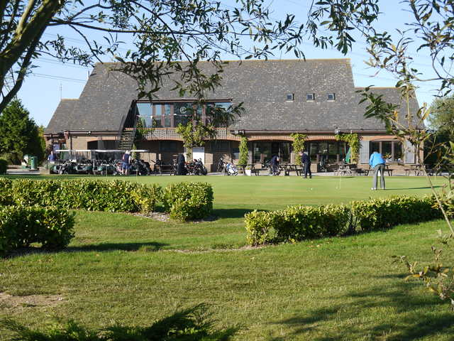 A view of the clubhouse at Aylesbury Vale Golf Club