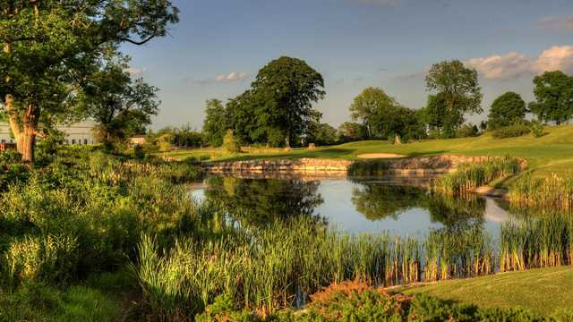 Knightsbrook Hotel & Golf Resort: 18th tee