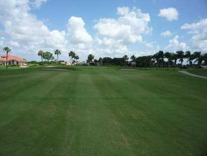 A view from fairway #18 at Mirror Lakes Golf Club