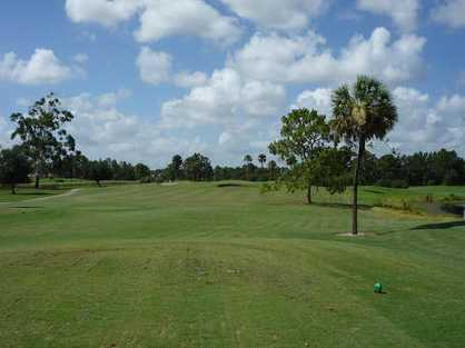 A view from the 2nd tee at Mirror Lakes Golf Club
