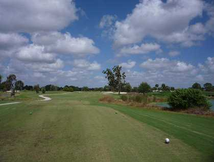 A view from tee #8 at Mirror Lakes Golf Club