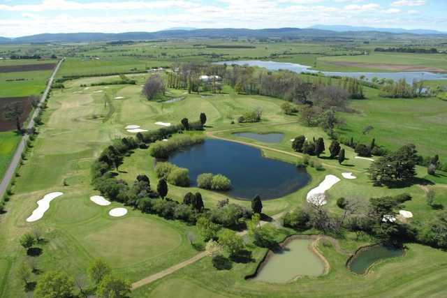 Aerial view from Quamby Golf & Country Club