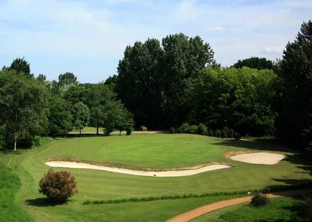 A view of hole #14 at Championship Course from Downshire Golf Complex