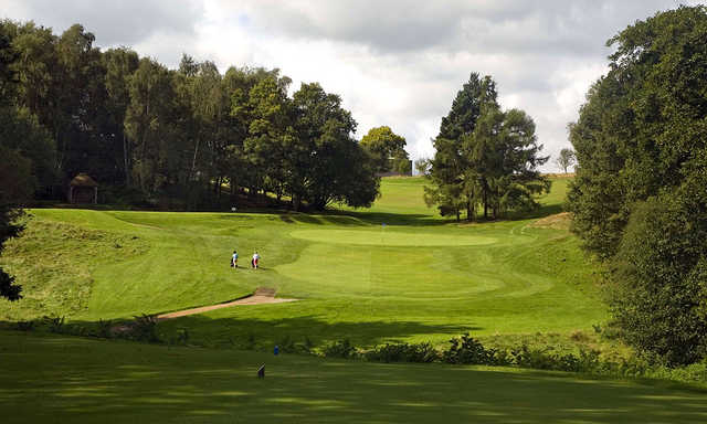 A view from tee #9 at Newbury & Crookham Golf Club