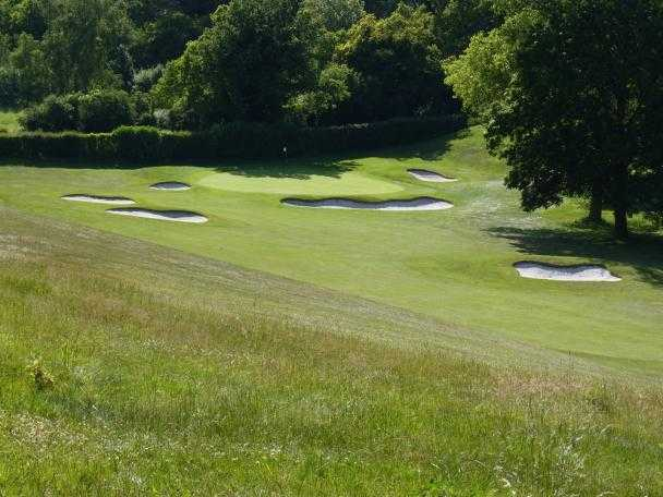 A view of the 5th hole at Reading Golf Club