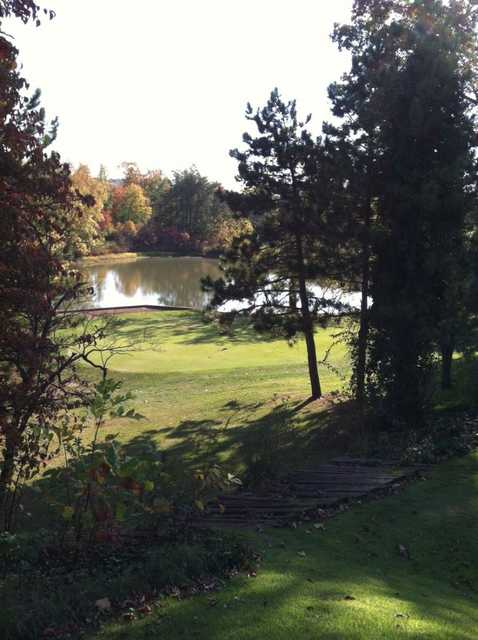 A view from Hickory Hills Golf Club