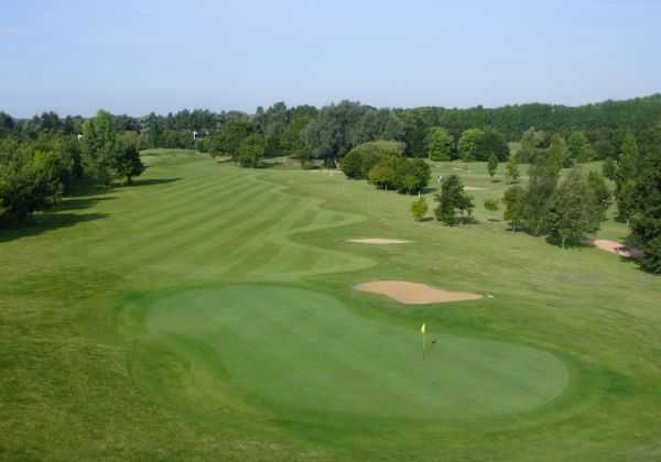 A view of hole #10 at Main Course from Abbey Hill Golf Centre