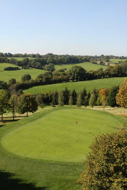 A view of green at Chartridge Park Golf Club