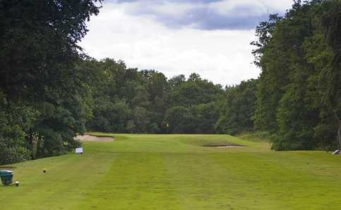 A view from tee #13 at Gerrards Cross Golf Club