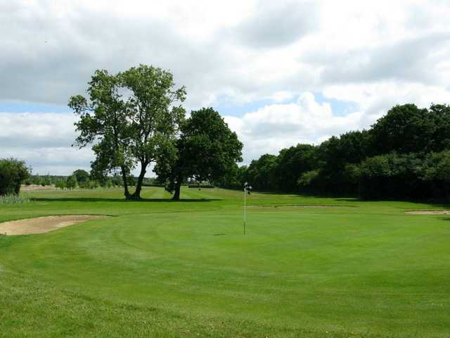 A view of green at Silverstone Golf Club