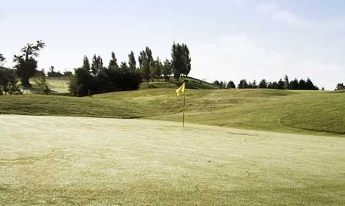 A view of the 5th hole at Three Locks Golf Club