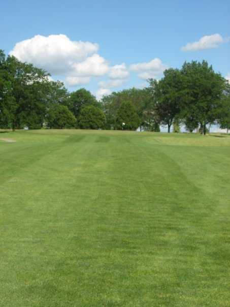 A view from a fairway at White from Coachman's Golf Resort.