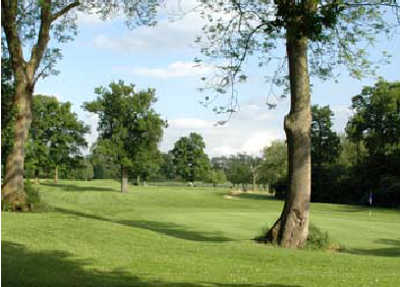 A view of green at Wexham Park Golf Centre